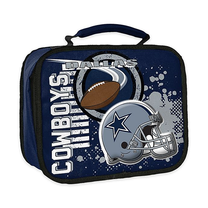 Nfl Dallas Cowboys Accelerator Insulated Lunch Box Bed