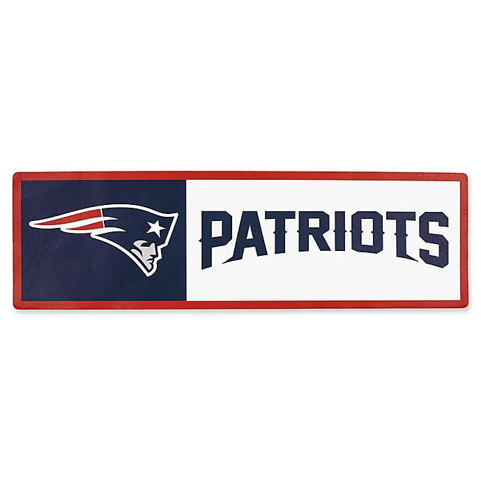 Alternate image 1 for NFL New England Patriots Outdoor Step Graphic Decal