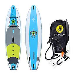 Body Glove 11-Foot Navigator Inflatable Paddle Board Set in Aqua/Green