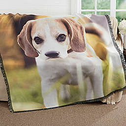 Picture It! Pet Woven Throw Blanket