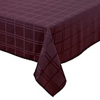 Origins™ Microfiber 52-Inch x 70-Inch Oblong Tablecloth in Eggplant