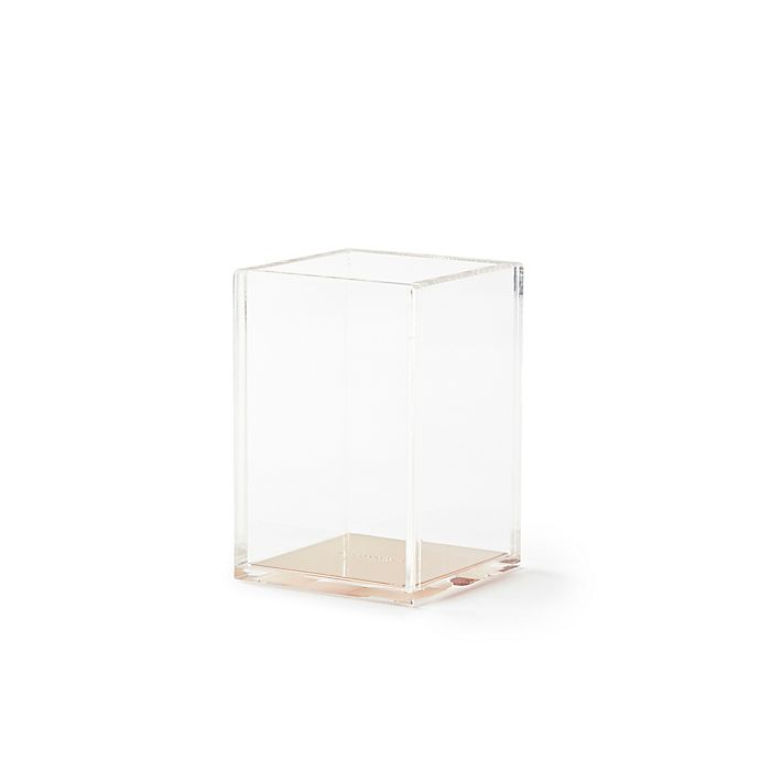 Alternate image 1 for kate spade new york Strike Gold™ Pencil Cup