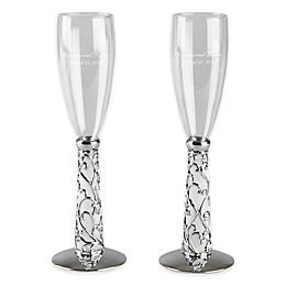 Ivy Lane Design™ Elegant Vine Toasting Flutes (Set of 2)