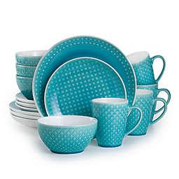 Euro Ceramica Palma 16-Piece Dinnerware Set