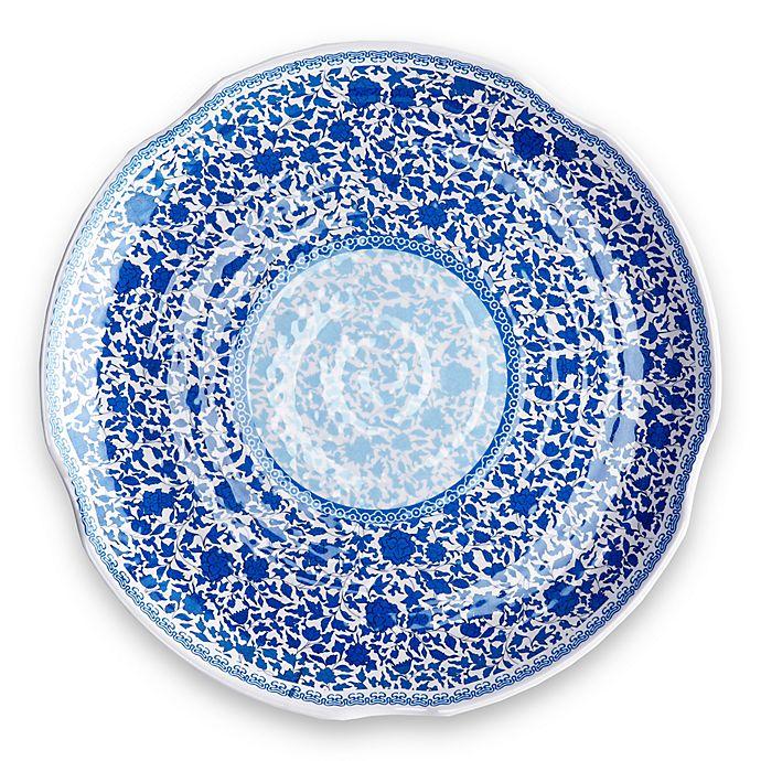 Alternate image 1 for Q Squared Heritage Melamine Large Serving Platter