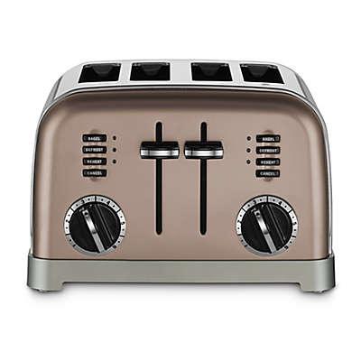 Cuisinart® 4-Slice Toaster in Black Stainless Steel