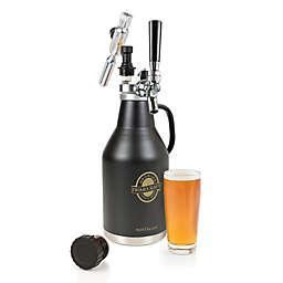 Nostalgia™ Electrics 64 oz. Homecraft Beer Growler in Black