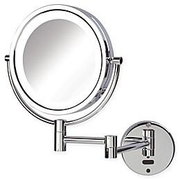 Sharper Image® 8X-1X LED Wall Mount Motion Sensor Mirror