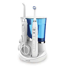 Waterpik® Complete Care 5.5 Flosser + Oscillating Toothbrush System in White