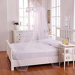 Casablanca Kids Buttons & Bows Bed Canopy