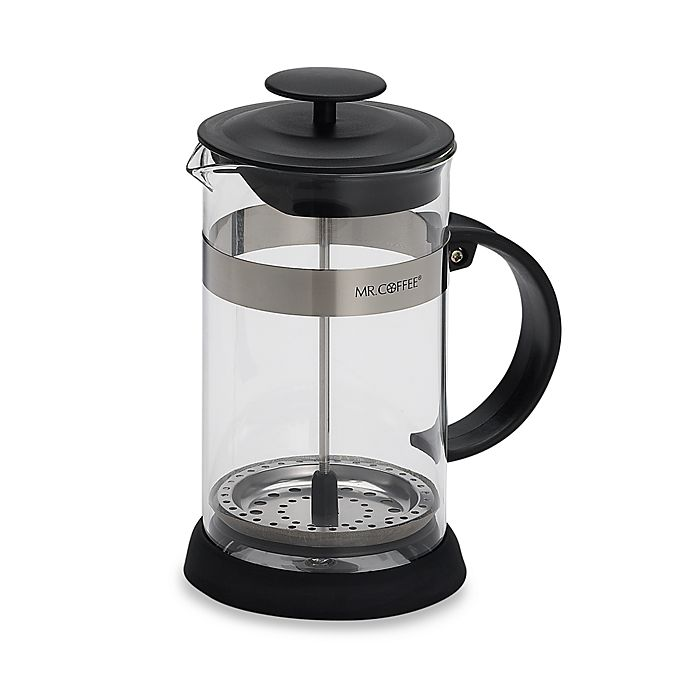 Alternate image 1 for Mr. Coffee® 4-Cup Coffee Press in Black