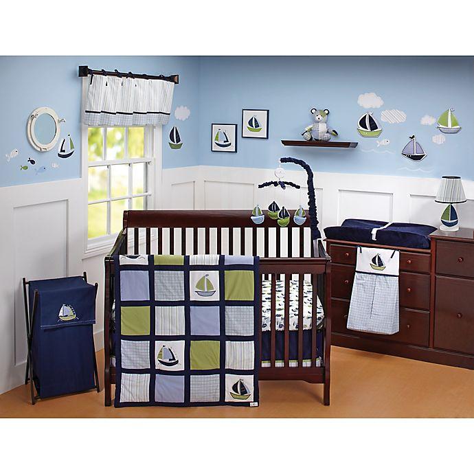 Alternate image 1 for Nautica Kids® Zachary 6-Piece Crib Bedding Set