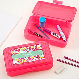 Geometric Shapes Pencil Box