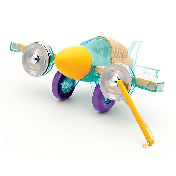 Alternate image 1 for Fisher-Price® Wooden Toys Rhythm and Roll Percussion Plane