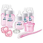 Philips Avent Anti-Colic Baby Girl Beginner Gift Set in Pink