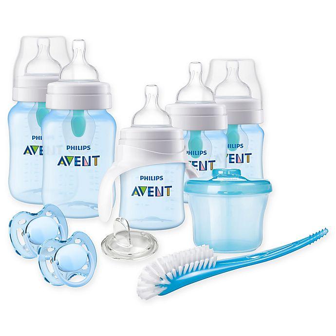 Alternate image 1 for Philips Avent Anti-Colic Baby Boy Beginner Gift Set
