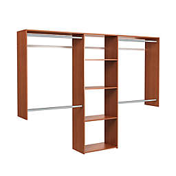 Easy Track Deluxe 8-Foot Shelving Closet Kit
