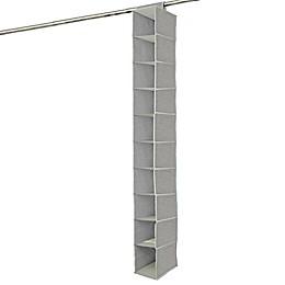 Farberware® Millennium 10-Shelf Hanging Organizer in Grey