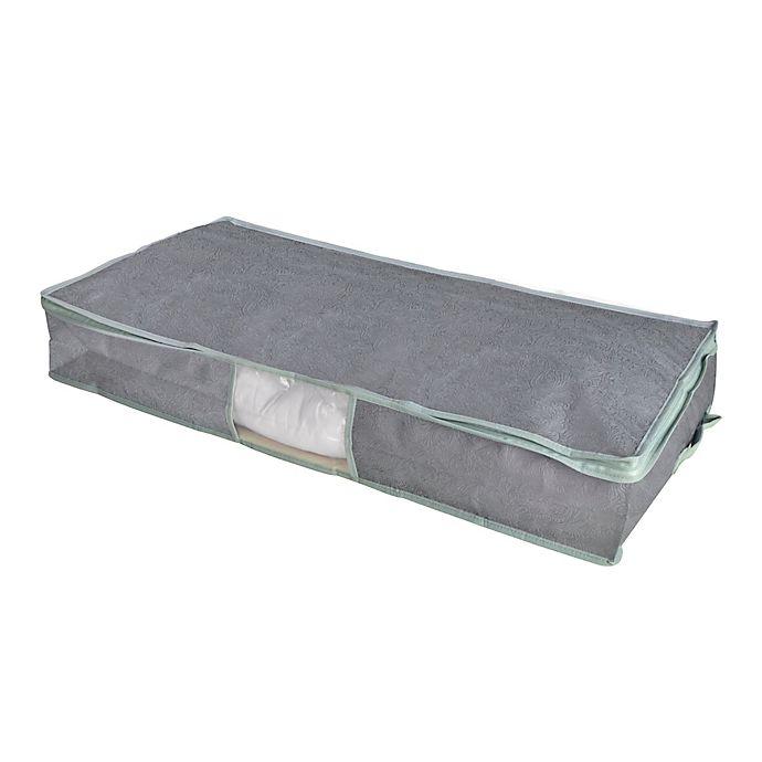 Alternate image 1 for Farberware® Millennium Under-Bed Storage Bag in Grey/Blue