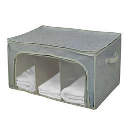 Farberware® Millennium Divided Storage Bag with Window in Grey (Set of 2)