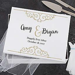 Rustic Chic Wedding Keepsake Memory Box