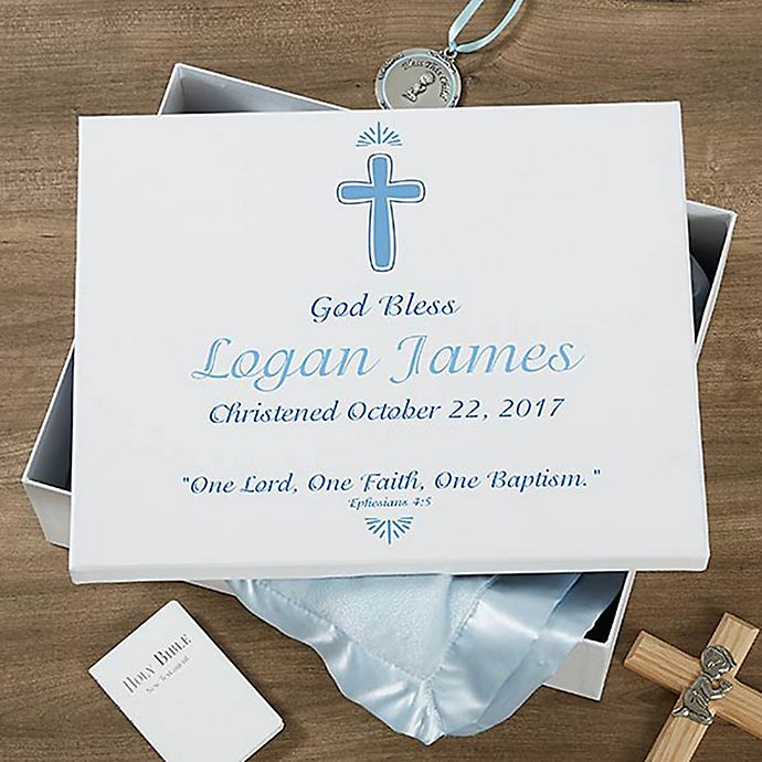 Alternate image 1 for Baptism Day Keepsake Memory Box
