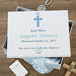 Baptism Day Keepsake Memory Box