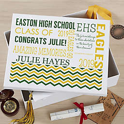 School Memories Keepsake Memory Box