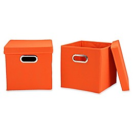 Household Essentials® Collapsible Storage Cubes (Set of 2)