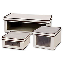 Household Essentials® Vision Storage Box in Natural