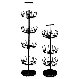 Household Essentials® Tiered Revolving Shoe Tree in Black