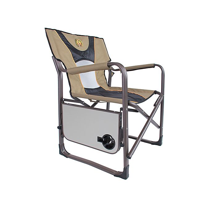 Alternate image 1 for Bushtec Adventure Charlie 440 Big Director's Canvas Chair