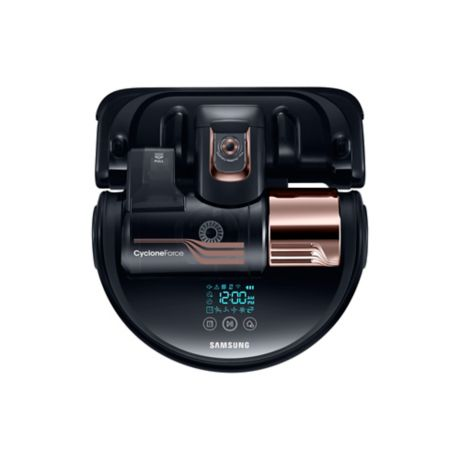 Samsung Powerbot R9350 Turbo Robot Vacuum In Copper Bed