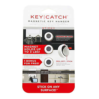 KeySmart® KeyCatch™ 3-Pack 3M Tape Magnetic Key Holder