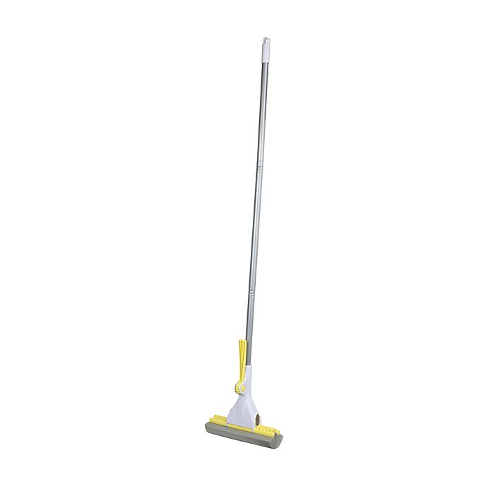 Alternate image 1 for Casabella® Basics Roller Mop in Silver/Yellow