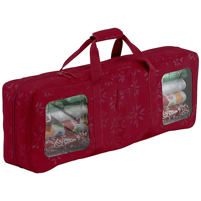 Alternate image 1 for Classic Accessories® Seasons Wrapping Supplies Organizer & Storage in Red