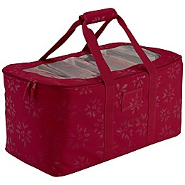 Classic Accessories® Holiday Lights 12-Inch x 24-Inch Storage Bag in Red