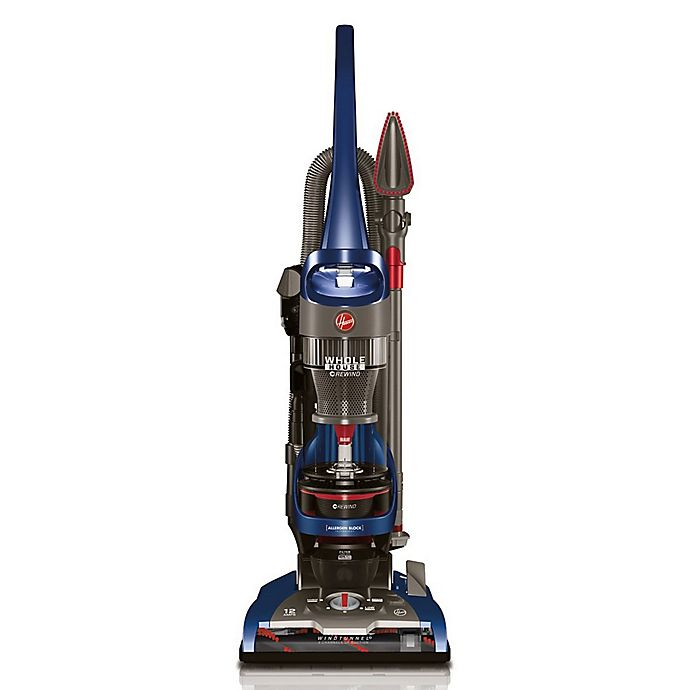 Alternate image 1 for Hoover® WindTunnel® 2 Whole House™ Rewind Upright Vacuum in Blue