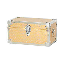 Household Essentials® Small Bling Decorative Storage Box in Gold