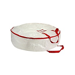 Household Essentials® MightyStor 24-Inch Wreath Storage Bag in White