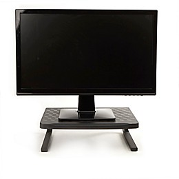 Mind Reader Metal Monitor Stand in Black