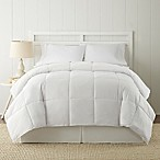 Pacific Coast® Textiles Down Alternative Reversible Queen Comforter in White/White