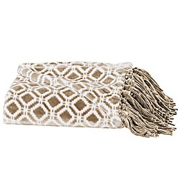 Great Bay Home Liliana Fringed Ultra Plush Throw Blanket