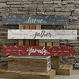 Cozy Home Wooden Sign
