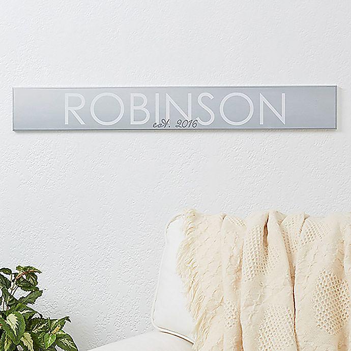 Alternate image 1 for Family Name Wooden Sign