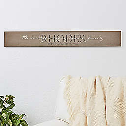 Heart of Our Home Wooden Sign