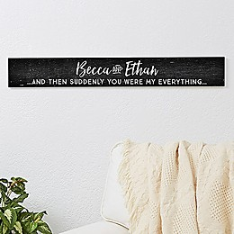 Romantic Quotes Wooden Sign