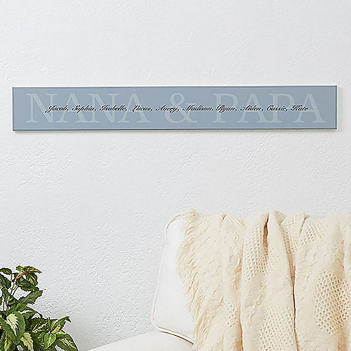 Alternate image 1 for Grandkids 28.8-Inch x 4-Inch Wooden Sign