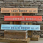 Home Away From Home Wooden Sign