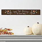 Count Your Blessings Wooden Sign